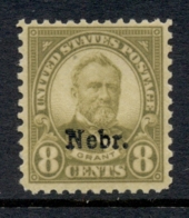 USA 1929 Sc#677 8c Fourth Bureau Opt Nebr. MLH - Etats-Unis