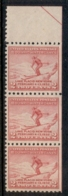 USA 1932 Sc#716 Winter Olympics, Lake Placid Str3 MUH - Etats-Unis