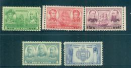 USA 1936-37 Sc#790-94 Navy Issue MLH Lot67461 - Estados Unidos