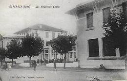 11)   ESPERAZA  - Les Nouvelles  Ecoles - Autres Communes