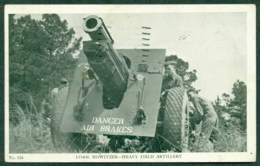 USA 1941 155mm Howitzer, Heavy Field Artillery Gun, B&W Photo, Used Franked With SC# 899 1c Liberty To Ohio - Vereinigte Staaten