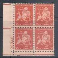 USA 1948 Sc#C38 Five Boroughs Air Mail Blk4 MUH - Vereinigte Staaten