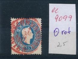 Österreich Klassik O-rot     (ee9099  ) Siehe Scan - 1850-1918 Empire