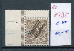 DP.in Marokko  Nr. 1  ** (ee8735   ) Siehe Scan - Deutsche Post In Marokko