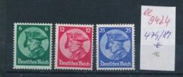 D.-Reich Nr. 479-81  *       (ee9424   ) Siehe Scan Vergrößert ! - Deutschland