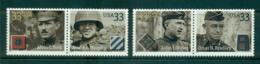 USA 2000 Sc#3393-96 Distinguished Soldiers MUH Lot53678 - Stati Uniti