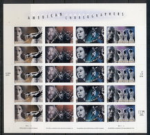USA 2004 Sc#3840-3843 American Choreographers Pane 20 MUH - United States