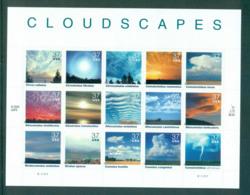 USA 2004 Sc#3878 Cloudscapes Pane 15 Lot53935 - United States