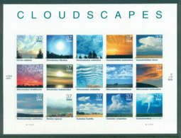 USA 2004 Sc#3878 Cloudscapes Pane 15 MUH Lot33724 - United States