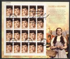 USA 2006 Sc#4077 Legends Of Hollywood Judy Garland Pane 20 FU - United States