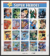 USA 2006 Sc#4084 DC Comics Super Heroes Pane 20 MUH - United States