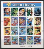 USA 2006 Sc#4084 DC Comics Superheroes Pane 20 MUH - United States