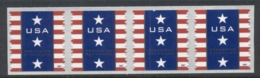 USA 2007 Sc#4157 Patriotic Banner Coil Str 4 - United States