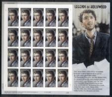 USA 2007 Sc#4192 Legends Of Hollywood James Stewart Pane 20 MUH - United States