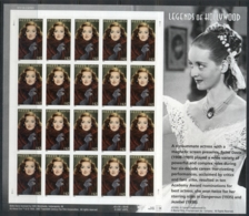 USA 2008 Sc#4350 Legends Of Hollywood Bette Davia Pane 20 MUH - United States