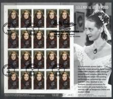 USA 2008 Sc#4350 Legends Of Hollywood Bette Davis Pane 20 FU - United States