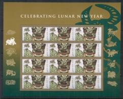 USA 2009 Sc#4375 Chinese New Year Ox Pane 12 MUH - United States