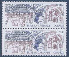 N° 5104 Brive La Gaillarde Faciale 0,70 € X2 - France