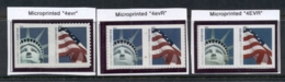 USA 2011 Flag & Liberty 3 Pr MUH - United States