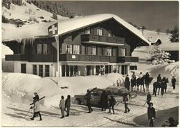 SCHÖNRIED Tearoom Hotel Zur Kaffee-Mühle Auto Ski Pferde - BE Bern
