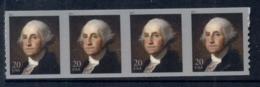 USA 2011 George Washington Coil Str4 MUH - United States