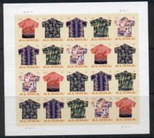 USA 2012 Aloha Shirts Pane 20 MUH - United States