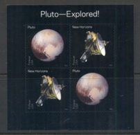 USA 2016 Pluto Explored MS MUH - United States
