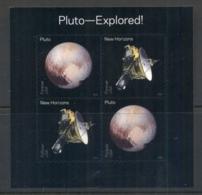 USA 2016 Pluto Explored MS MUH - Unclassified