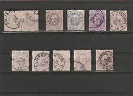 COB N° 36 - Diverses Nuances - 1869-1883 Léopold II