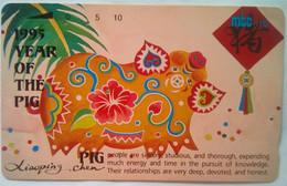 MT-14 Year Of The Pig   10 Units - Noordelijke Marianen