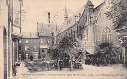 Assche, Asse, Gemeenteplaats, 2 Scans - Gent