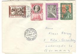 11041 - Par Avion Pour L'Allemagne - Vatican