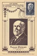 Carte  Maximum  1er  Jour   FRANCE   Raymond  Poincaré   SAINT  ETIENNE  1950 - Maximum Cards