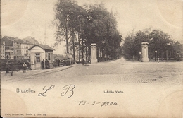 BRUSSEL BRUXELLES L'ALLEE VERTE  NELS - Monuments
