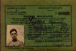 BREVET MILITAIRE 1933 - Cartes