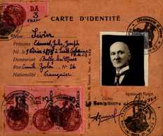 CARTE D'IDENTITE - Cartes
