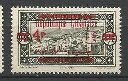 GRAND LIBAN  N° 119 NEUF*  TRACE DE CHARNIERE / MH - Grand Liban (1924-1945)