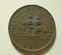 South Africa 1 Penny 1953 - Afrique Du Sud