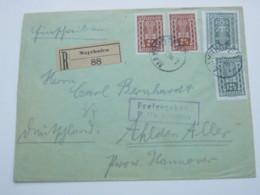 1922 , MAYRHOFEN , Alter Stempel Auf Einschreiben  Mit Zensur - 1918-1945 1. Republik
