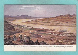 Old Post Card Of Korosko,Nile River In Egyptian Nubia..J19. - Egypt