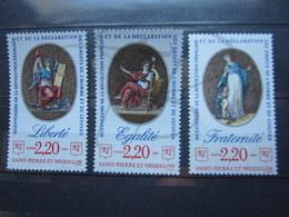VEND BEAUX TIMBRES DE S.P.M. N° 499 - 501 , XX !!! - St.Pierre & Miquelon