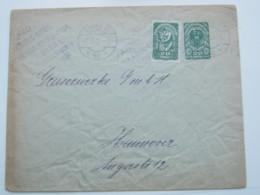 1921 , Ganzsache Aus Wien Mit Zusatzfrankatur , Knitterig - 1918-1945 1. Republik