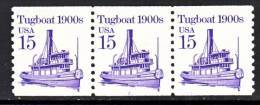 U.S. 2260 A X 3  Overall Tag   Plate 2  **  TUGBOAT - Coils (Plate Numbers)