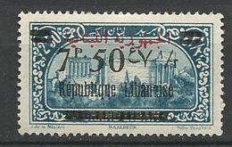 GRAND LIBAN  N° 107 NEUF*  TRACE DE CHARNIERE / MH - Grand Liban (1924-1945)