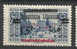 GRAND LIBAN  N° 109 NEUF*   CHARNIERE / MH - Grand Liban (1924-1945)