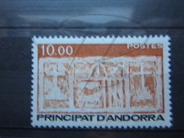 VEND BEAU TIMBRE D ' ANDORRE N° 337 , XX !!! - Andorre Français