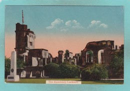 Old Post Card Of The Residency,Lucknow, Uttar Pradesh, India,J19. - India