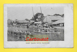 CPA ֎ BELIZE ֎  (British Honduras)  ¤¤ DORY RACE WITH PADDLES ¤¤ Paddle Event - Belize