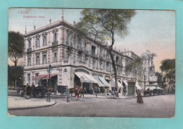 Old Post Card Of Shepheard`s Hotel,Caire,Cairo, Cairo, EgyptJ19. - Cairo