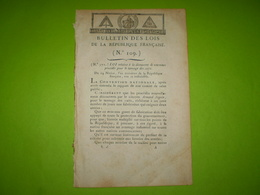Lois An III : Douane Ile D'Oléron,Ré. Gendarmerie Des Tribunaux & Maisons De Détention. Nx Procédés De Tannage Du Cuir - Décrets & Lois